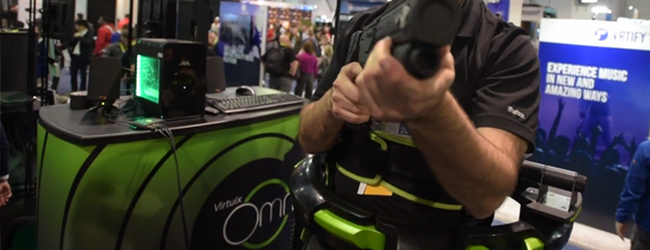 Virtuix Proved That The Omni Vr Treadmill Is the Real Deal