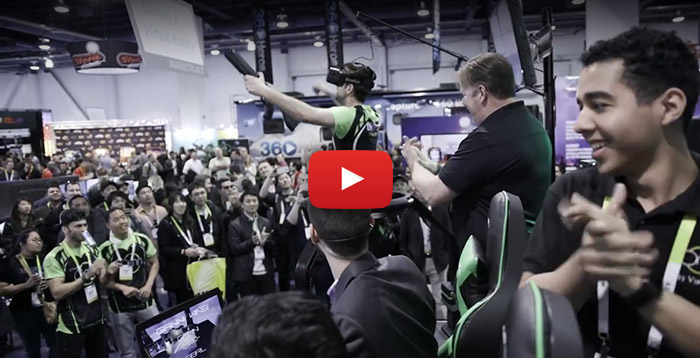 Virtuix Omni at CES