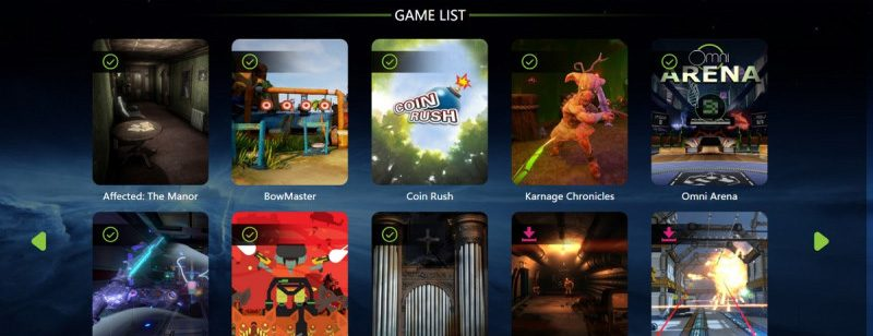 Virtuix launches suite of Omniverse VR games for arcades