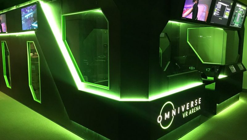 Virtuix Compacts Location-Based Entertainment With VR ARENA