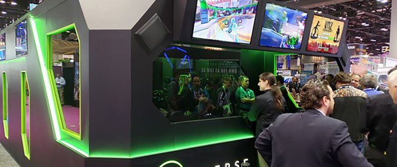 VR ARENA at IAAPA and Omniverse ESPORTS