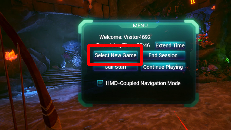 Omniverse In-game Menu