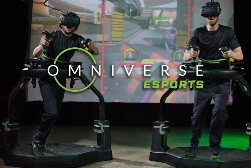 Virtuix Looks To 'Level Up' Competitive VR Play With Omniverse ESPORTS