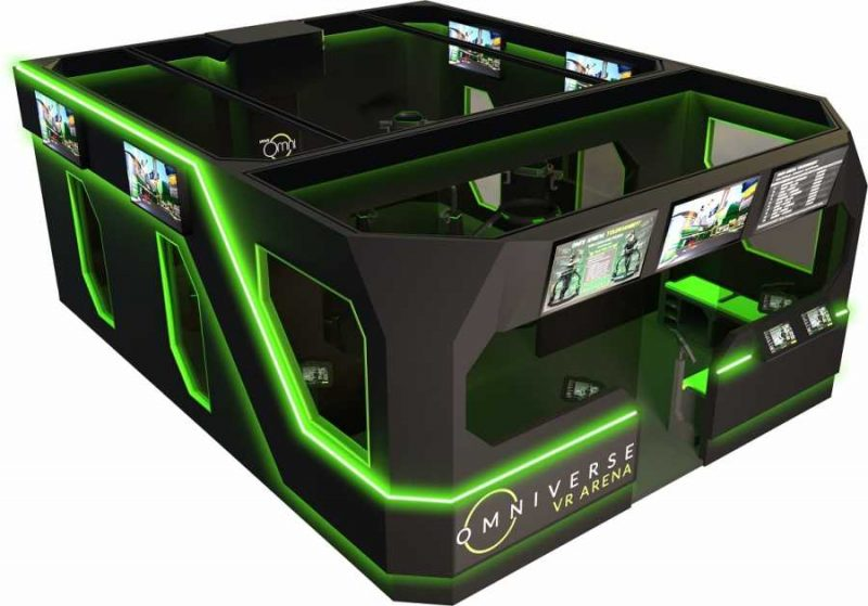 Virtuix and Funovation to unveil new esports attraction VR Arena at the IAAPA Attractions Expo