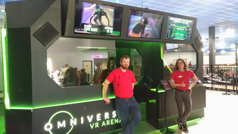 Virtuix's First VR Arena Generates Over $10,000 In 10 Days
