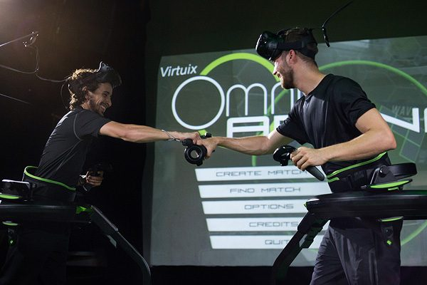 Milestone for Virtuix's Omniverse – One million plays and counting