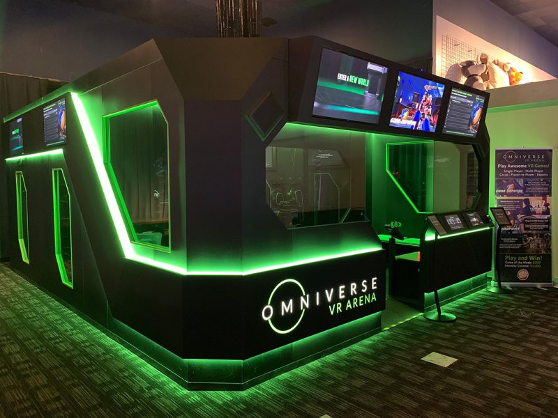 VR Arena makes US $52,000 in two months