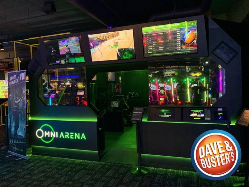 Dave & Buster's launches second Virtuix Omni Arena VR attraction in Texas
