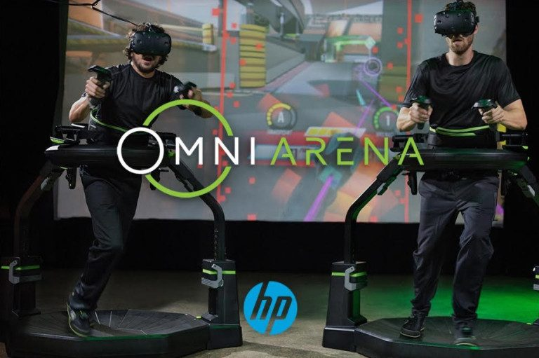 HP and Virtuix sponsor $100,000 VR esports tournament